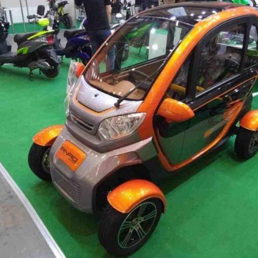 В Україні з'явився перший бюджетний електромобіль (фото)