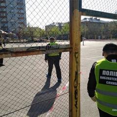 У Києві вранці стався вибух на спортивному майданчику