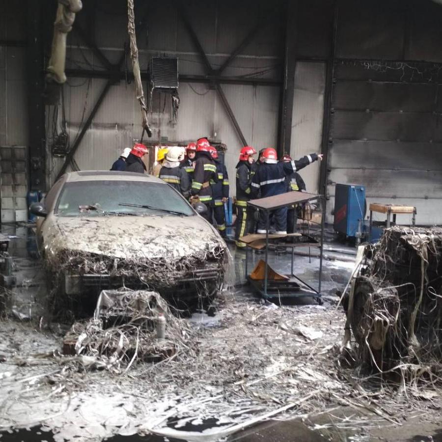 Пожежа у передмісті Львова знищила туристичний автобус та іномарку