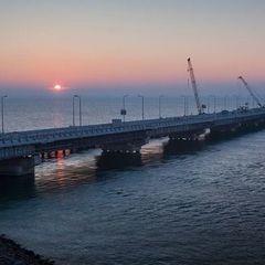 У Росії спростували повідомлення про тріщину в опорі Кримського мосту