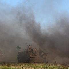 На березі Азовського моря пройшли масштабні військові навчання (фото)