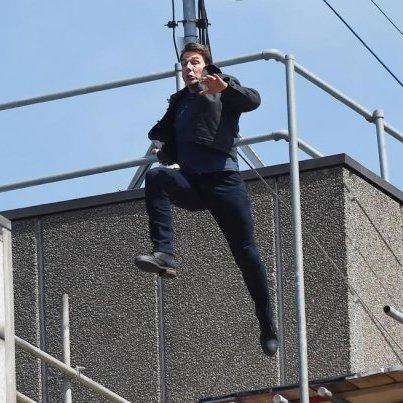 Том Круз 106 разів стрибнув з парашутом для зйомок нового фільму