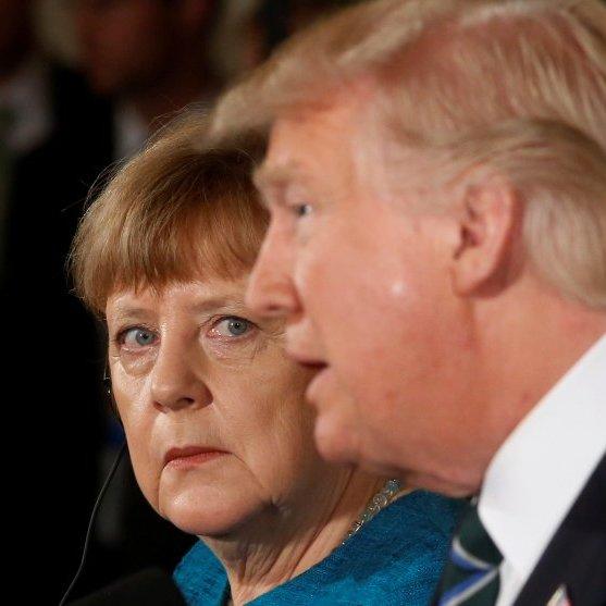 Дії Росії в Україні слід називати своїми іменами, – Меркель під час зустрічі з Трампом