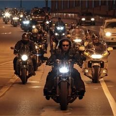 Польські прикордонники пропустили двох мотоциклістів з клубу «Нічні вовки»