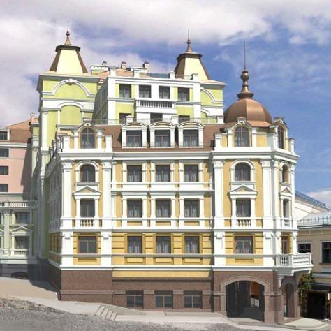 Суд визнав законним скандальне будівництво готелю на Андріївському узвозі