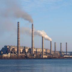 На Придніпровській ТЕС сталася аварія: у повітря піднявся чорний дим