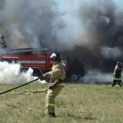На Чернігівщині у військовому лісгоспі сталася масштабна пожежа (відео)