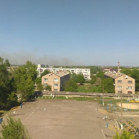 Пожежа в Балаклії локалізована, трава досі горить