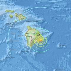 На Гавайських островах зафіксували найпотужніший землетрус за останні 40 років