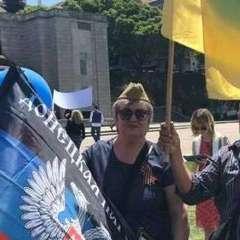 Російська делегація на Євробаченні несла прапори «ЛДНР» вулицями Лісабона (фото, відео)