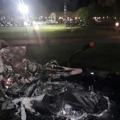 У Бразилії на очах у гостей розбився вертоліт із нареченою, але весілля відбулося (відео)