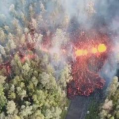 Гаваї: через виверження вулкану зруйновані десятки будівель