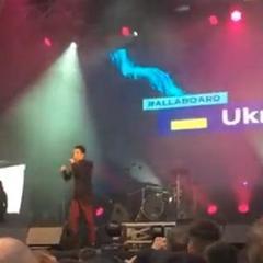 Євробачення-2018: представник від України MELOVIN виступив у фан-зоні (відео)
