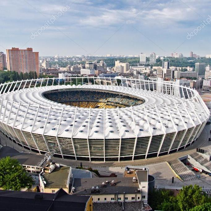 Як виглядає НСК «Олімпійський» в Києві перед фіналом Ліги чемпіонів (відео)