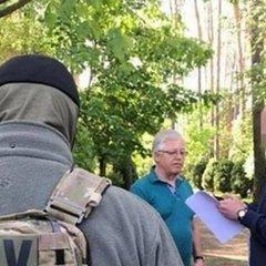 Обшук в Симоненка: СБУ вилучила пістолет і агітки