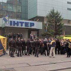 У Києві заблокували телеканал «Інтер»