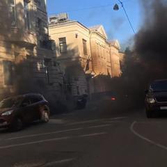У Москві напали на посольство Латвії