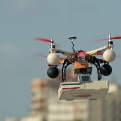 Uber почне доставляти їжу дронами