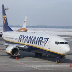 Ryanair сподівається почати літати ще до п'ятьох аеропортів України з літа 2019 року