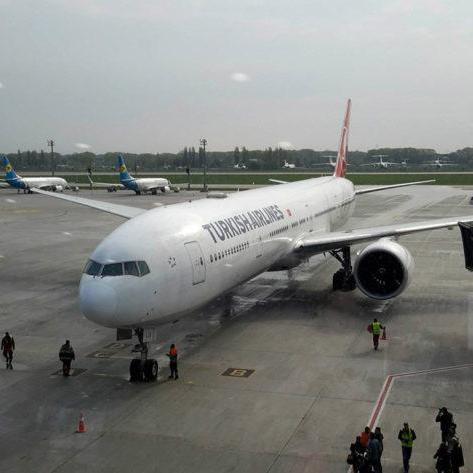 Turkish Airlines відправлять до Києва на фінал Ліги Чемпіонів свій найбільший літак (фото)