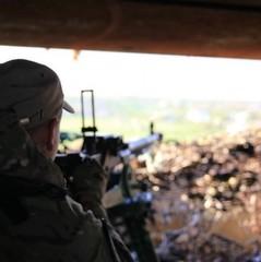 З початку доби на Донбасі немає втрат серед українських військових