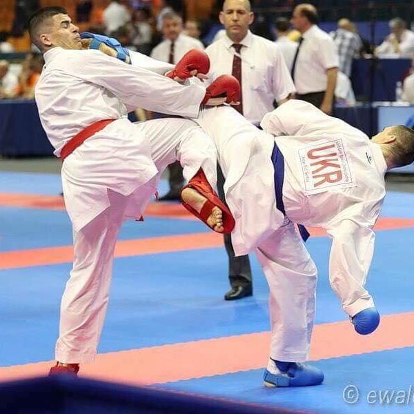 Чоловіча збірна України завоювала бронзу чемпіонату Європи з карате (відео)