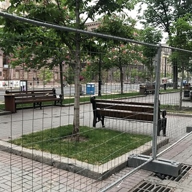 У Києві на кілька тижнів перекрили Хрещатик