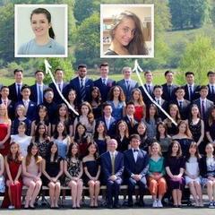Дочки Порошенка випустилися з престижного коледжу у Великобританії (фото)
