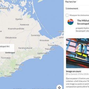 Міністерство культури Франції розмістило карту з «російським» Севастополем, але потім виправило її