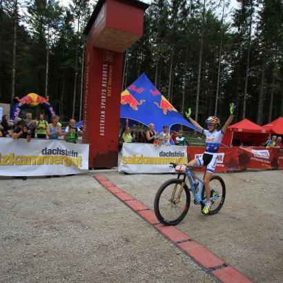 Українка Беломоїна завоювала перше золото в сезоні з маунтенбайку