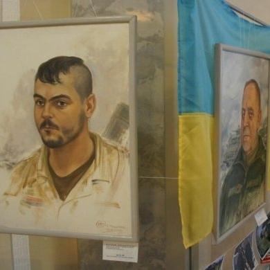 У Раді відкрилася виставка «Портрети добровольців на війні» (фото)