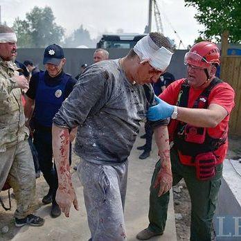 У Києві внаслідок сутички на будмайданчику постраждало 17 осіб