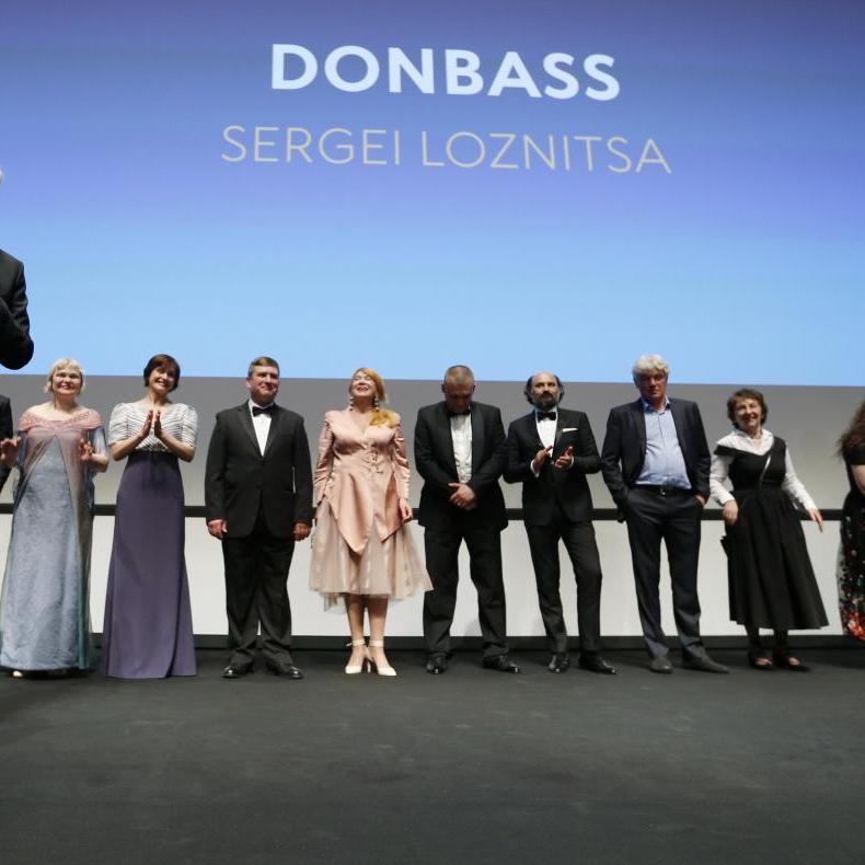 Лозниця отримав у Каннах приз за режисуру фільму «Донбас»
