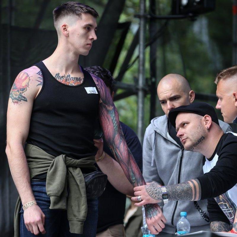 У Києві стартував фестиваль тату (фото)