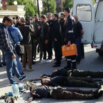 Напад на храм у Грозному скоїли троє чеченців і один житель Інгушетії