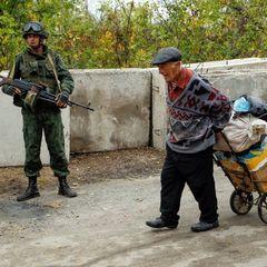До окупованої Горлівки зайшли бойовики з шевронами «Сомалі»