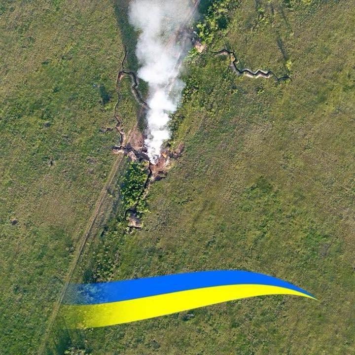 На Світлодарській дузі знищено передову позицію бойовиків (фото)