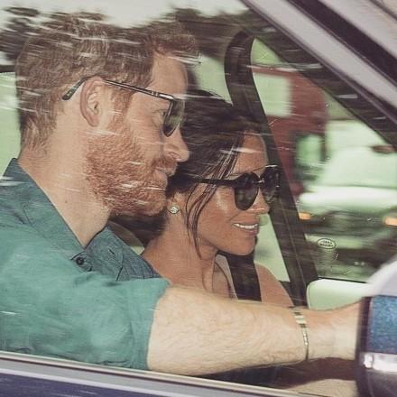 Принц Гаррі та Меган Маркл повернулись до Лондона – ЗМІ