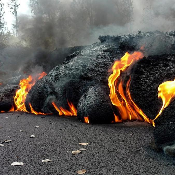 МЗС радить українцям не їздити на Гаваї через активізацію вулкану Кілауеа (фото)