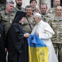 Папа Римський зустрівся з українськими військовими