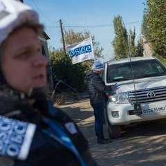 На Луганщині обстріляли місію ОБСЄ