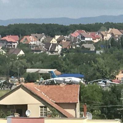 Порошенко прилетів на відкриття Бескидського тунелю, зробивши гак через Словаччину
