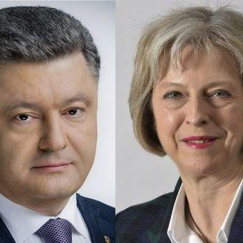 Порошенко і Мей поговорили телефоном про посилення тиску на Кремль