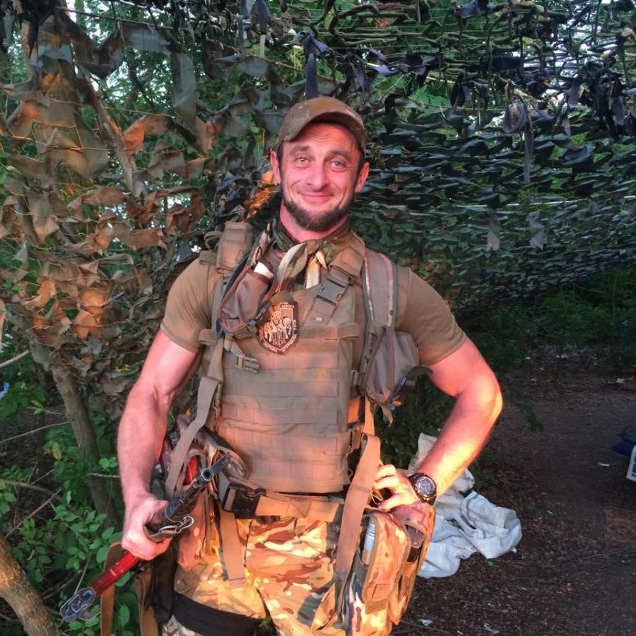 Колишній охоронець «Мотороли» воює під Горлівкою на стороні ЗСУ - журналіст (фото)