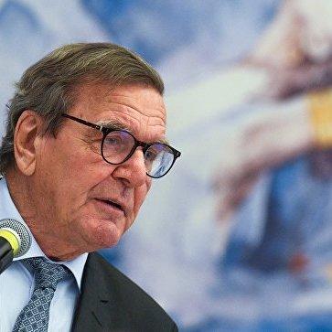 Екс-канцлер Німеччини вважає, що альтернативи «Північному потоку-2» для ЄС не існує