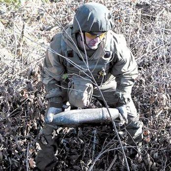 Із початку бойових дій на Донбасі сапери ЗСУ розмінували майже 4 тис. га території