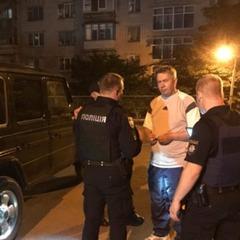 У Києві екс-депутат «попався» на водінні в нетверезому стані (відео)