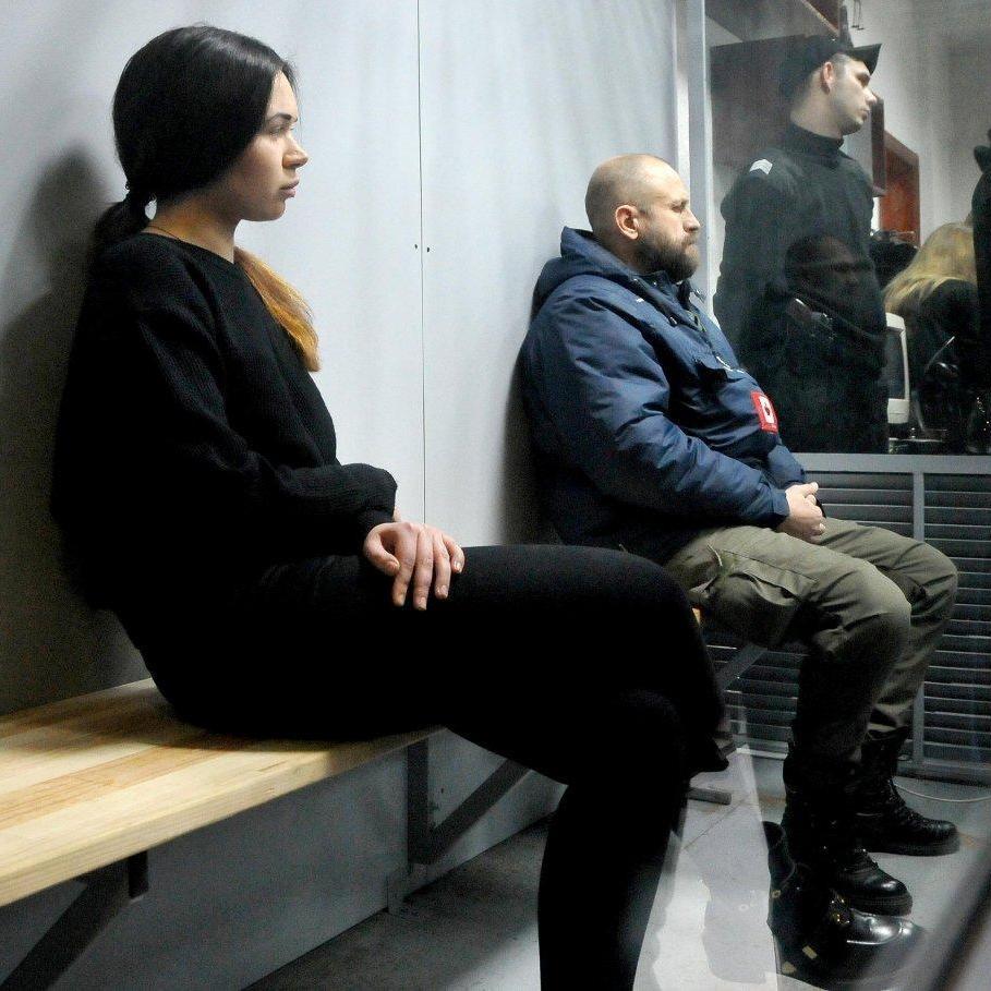 Резонансна ДТП у Харкові: Зайцевій та Дронову продовжили арешт на два місяці