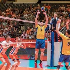Чоловіча збірна України з волейболу програла Нідерландам в Золотий Євролізі