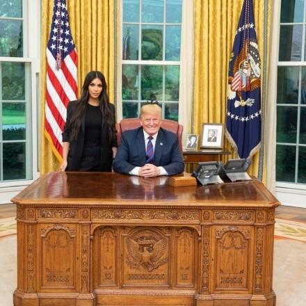 Трамп зустрівся з Кім Кардашян у Білому домі